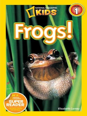 cover image of National Geographic Readers: Frogs