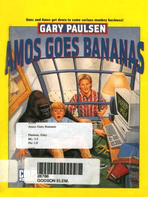 cover image of Amos Goes Bananas