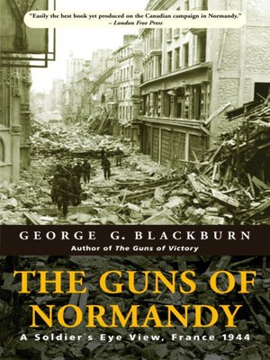 cover image of The Guns of Normandy