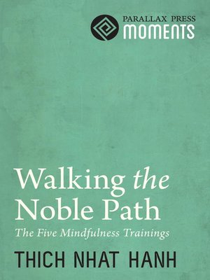 cover image of Walking the Noble Path