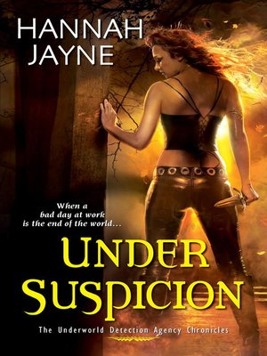 cover image of Under Suspicion