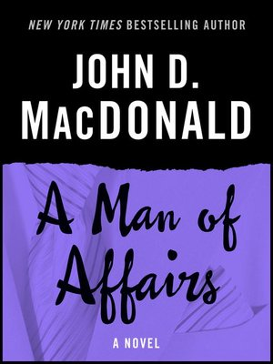 cover image of A Man of Affairs