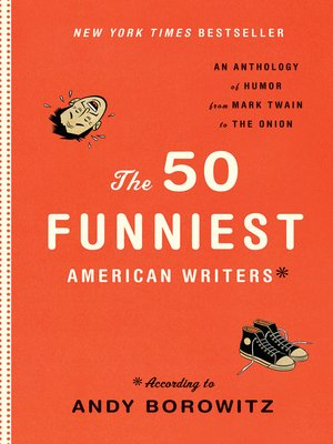 cover image of The 50 Funniest American Writers