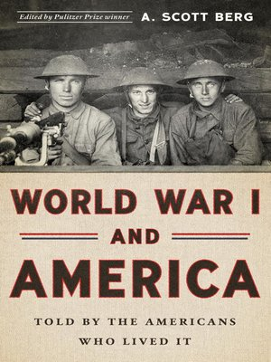 cover image of World War I and America