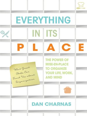 cover image of Everything in Its Place