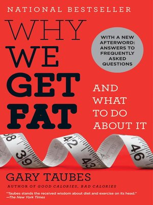 cover image of Why We Get Fat