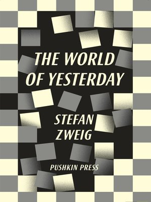 cover image of The World of Yesterday