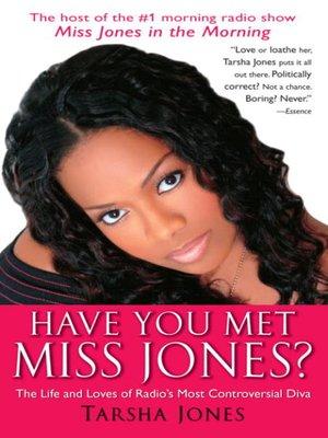 cover image of Have You Met Miss Jones?