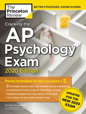 cover image of Cracking the AP Psychology Exam