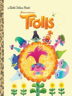 cover image of Trolls Little Golden Book