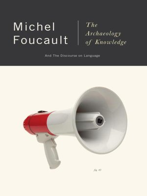 cover image of The Archaeology of Knowledge