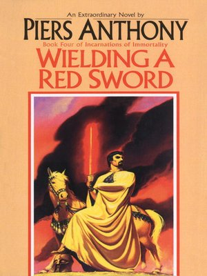 cover image of Wielding a Red Sword