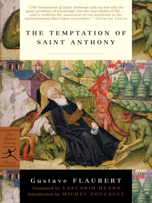 cover image of The Temptation of Saint Anthony