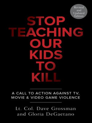 cover image of Stop Teaching Our Kids to Kill