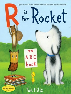 cover image of R Is for Rocket
