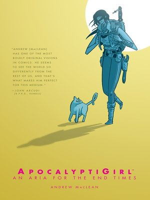 cover image of ApocalyptiGirl