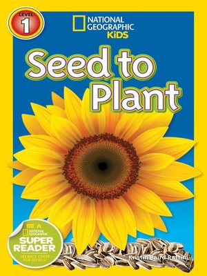 cover image of National Geographic Readers: Seed to Plant