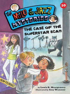 cover image of The Case of the Superstar Scam (Book 10)