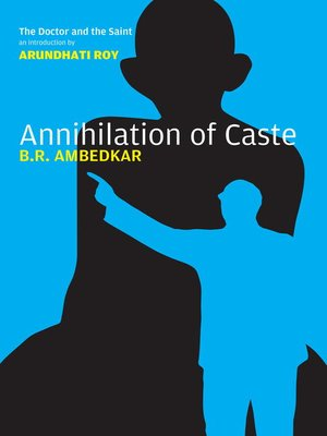cover image of Annihilation of Caste