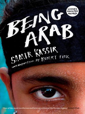 cover image of Being Arab