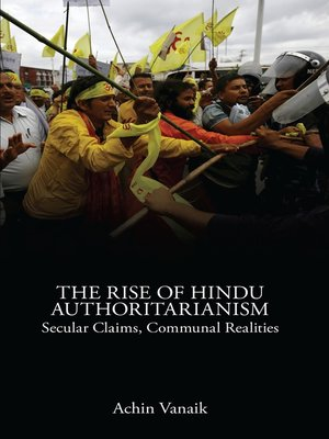 cover image of The Rise of Hindu Authoritarianism