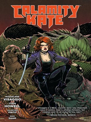 cover image of Calamity Kate