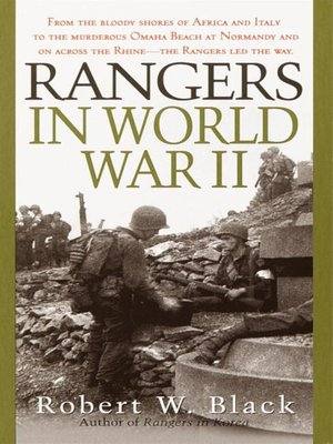 cover image of Rangers in World War II