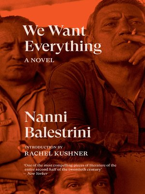 cover image of We Want Everything