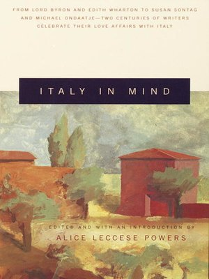 cover image of Italy in Mind