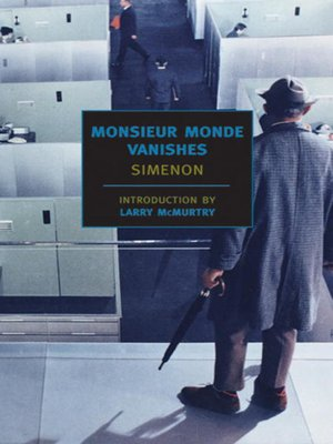 cover image of Monsieur Monde Vanishes