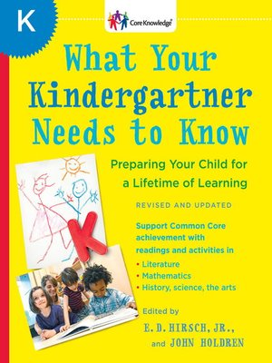 cover image of What Your Kindergartner Needs to Know (Revised and updated)