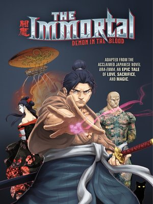 cover image of The Immortal: Demon in the Blood