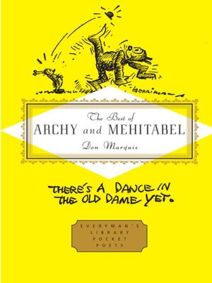 cover image of The Best of Archy and Mehitabel