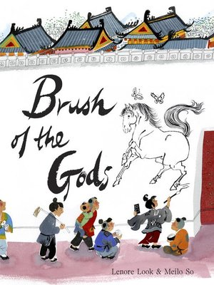 cover image of Brush of the Gods