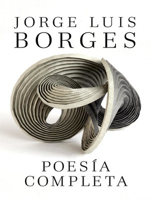cover image of Poesía completa