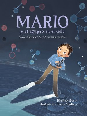 cover image of Mario y el agujero en el cielo
