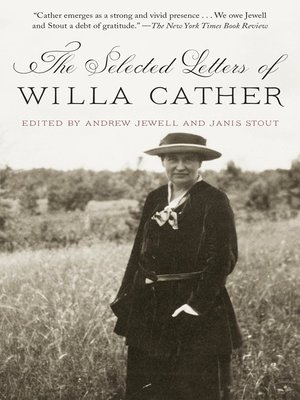 cover image of The Selected Letters of Willa Cather