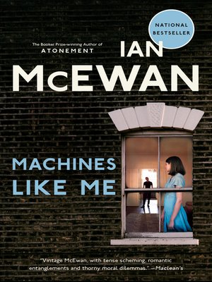 cover image of Machines Like Me