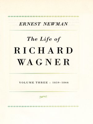 cover image of Life of R. Wagner, Volume 3