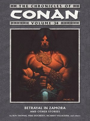 cover image of The Chronicles of Conan Volume 34