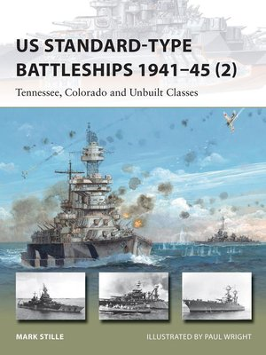 cover image of US Standard-type Battleships 1941–45 (2)