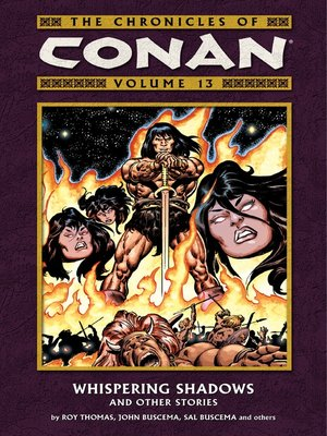 cover image of Chronicles of Conan, Volume 13