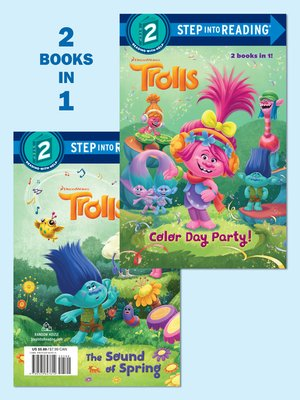 cover image of Color Day Party!/The Sound of Spring (DreamWorks Trolls)
