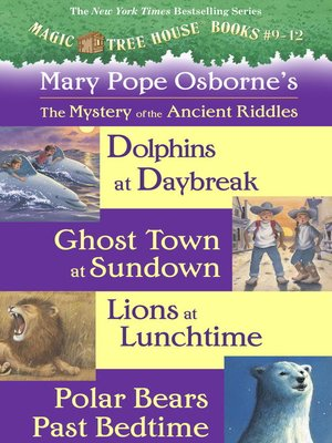 cover image of Magic Tree House, Books 9-12