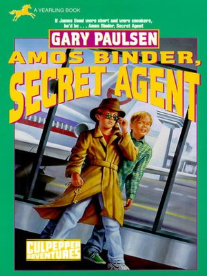 cover image of Amos Binder, Secret Agent