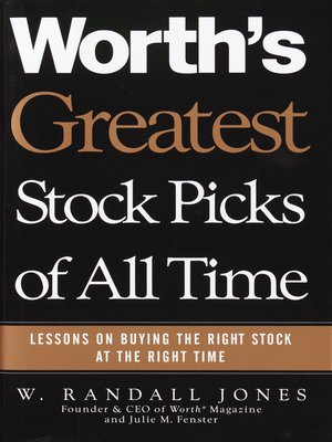 cover image of Worth's Greatest Stock Picks of All Time
