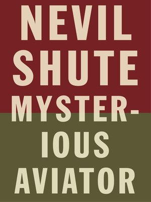 cover image of Mysterious Aviator