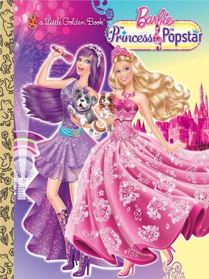 cover image of Princess and the Popstar Little Golden Book (Barbie)