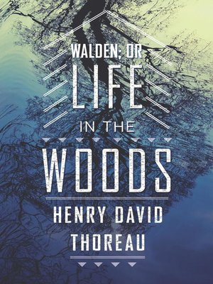 cover image of Walden; or Life in the Woods