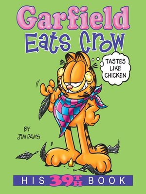 cover image of Garfield Eats Crow